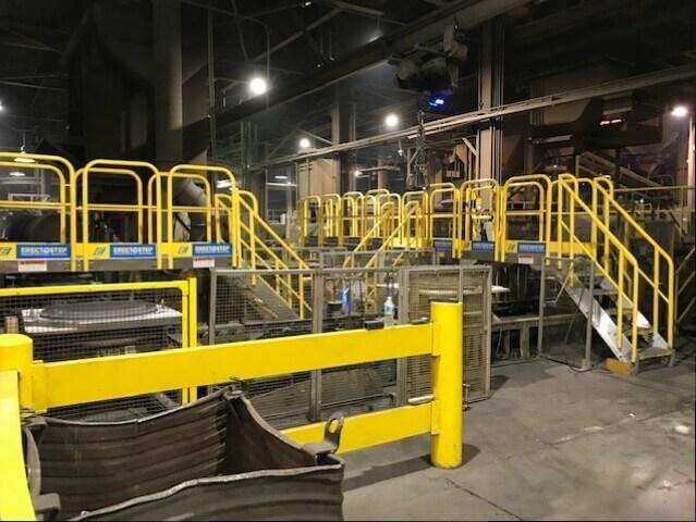 ErectaStep Conveyer Crossover for Amsted Rail Kansas City
